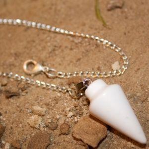 Jewelry - Pendulum/Bracelet White Quartz